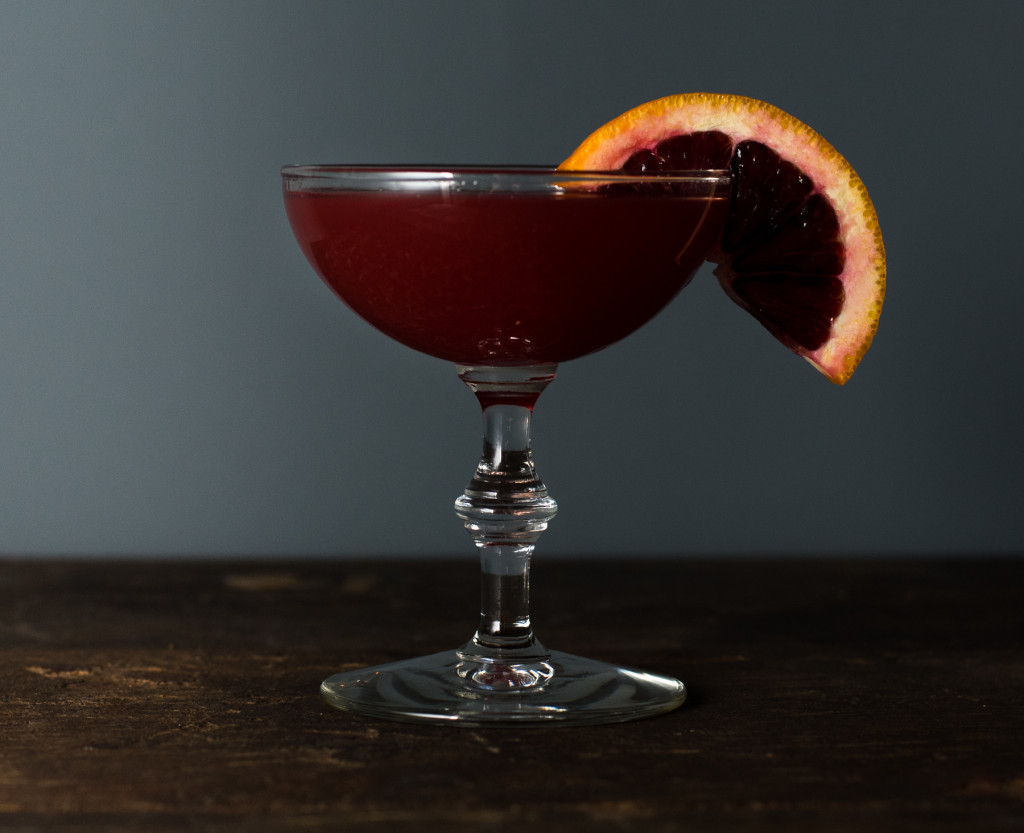 Blood Orange Tequila Cocktail // OakhurstKitchen.com