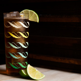 Dark And Stormy Cocktail Rum