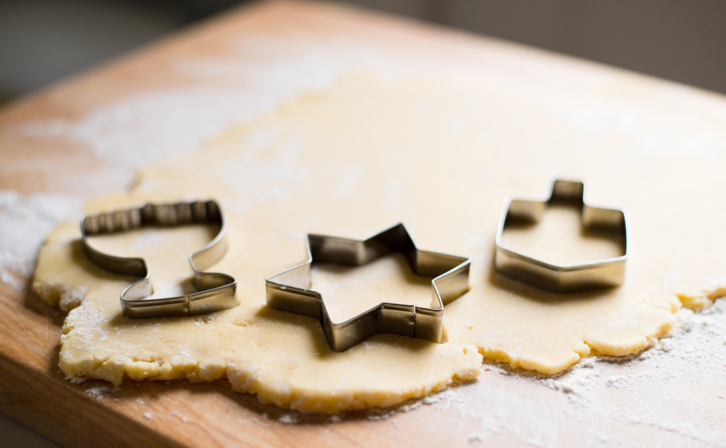 Hanukkah Sugar Cookies // Oakhurst Kitchen