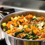 Butternut Squash Wild Rice Kale // OakhurstKitchen.com