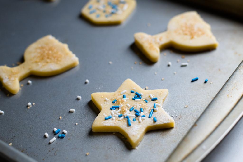 Hanukkah Sugar Cookies // Oakhurst Kitchen