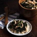 Asian Kale Coconut Chicken // OakhurstKitchen.com