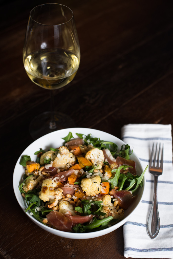 Winter Arugula Salad // Oakhurst.Kitchen.com