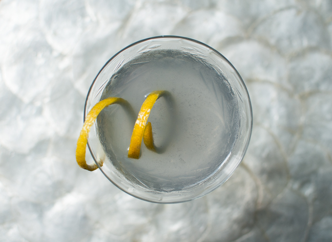 Aviation Cocktail // OakhurstKitchen.com