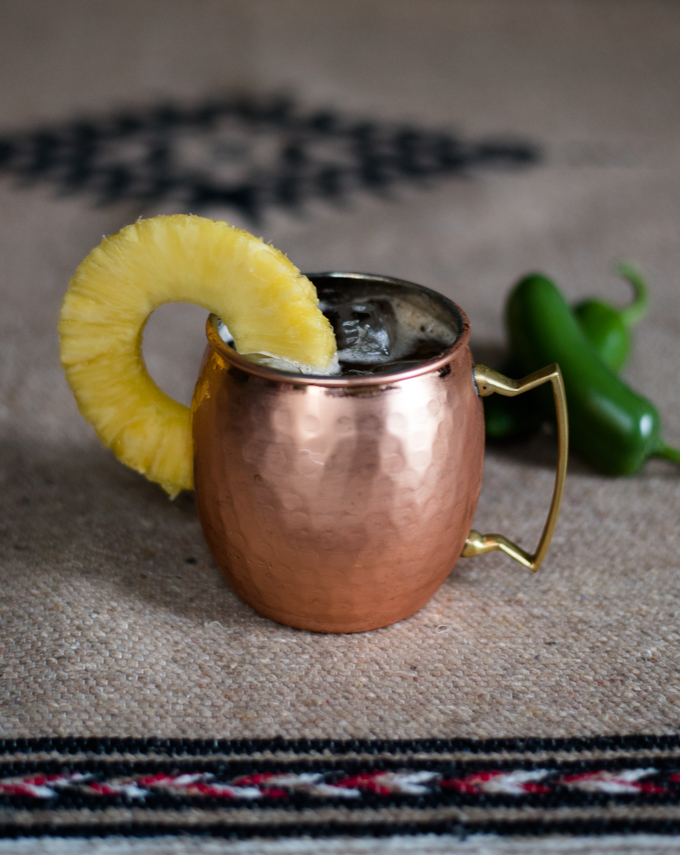 Mexican Mule Cocktail // OakhurstKitchen.com