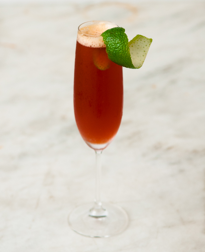 Eleanor Of Aquitaine Cocktail // OakhurstKitchen.com