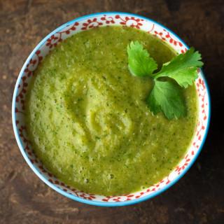 OakhurstKitchen.com // Green Tomato Salsa